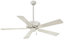"Minka-Aire F556-BWH - Contractor Plus 52"" - Bone White"