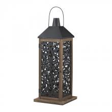 Sterling Industries 137-004 - Darfield-Large Lantern With Filigree Paneling