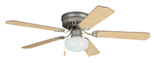 "Ellington Fan CC52BP5C1 - 52"" Hugger Ceiling Fan w/Schoolhouse Light"