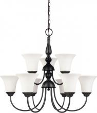 Nuvo 60/1843 - Dupont 9 Light Chandelier