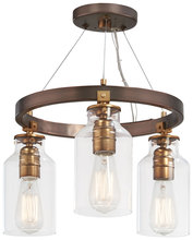 Minka-Lavery 4553-588 - 3 Light Semi Flush ( Convertible To Pendant)
