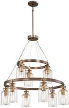 Minka-Lavery 4559-588 - 9 Light Chandelier