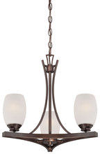 Minka-Lavery 4953-267B - City Club 3-Light Mini Chandelier