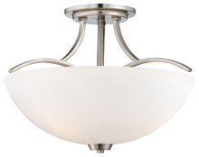 Minka-Lavery 4962-84 - 3 Light Semi Flush Mount