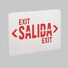 Nora NEXL/R - Replacment Lens for Exit Signs, Red