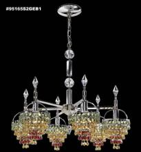 James R Moder 95165S2J - Tekno Mini Chandelier w/Basket Heads