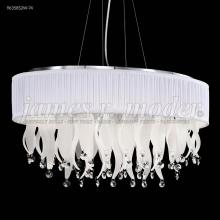 James R Moder 96358S2W-74 - Oval Chandelier with Shade