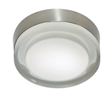 Stone Lighting CL508FRSNG940 - Ceiling Mount Rondo 8 Frost Satin Nickel G9 2x40w