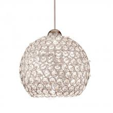WAC US G335-CL - BALL CRYSTAL SHADE