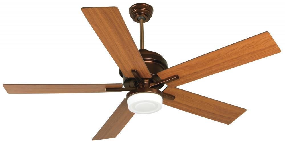 One Light Ac - Aged Copper Ceiling Fan : L4E2 | Village Lighting
