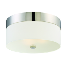 Crystorama 293-PN - Libby Langdon for Crystorama Grayson 3 Light Polished Nickel Ceiling Mount