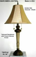 Marcsmen Lighting T491Pull - Table Lamp