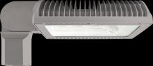 RAB Lighting ALED3T105SFYRG/PCS - ALED105 TYPE III W/ SLIPFITTER WARM LED + 120V PCS RD GRAY