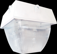 "RAB Lighting VAN5F64QTW - VANDALPROOF 12"" X 12"" CEILING 2 X 32W CFL QT WHITE"