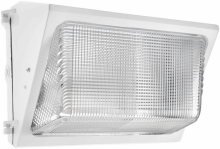 RAB Lighting WP2H150QTW - WALLPACK 150W MH QT HPF GLASS LENS + LAMP WHITE