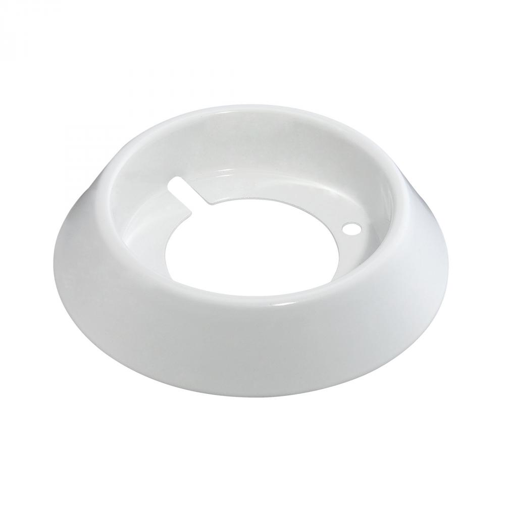 Village Lighting in Bellingham, Washington, United States,  2809Z, Polaris Surface Mount Collar In White, Polaris