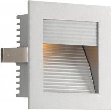 Alico WZ-102 - 1 Light Xenon Steplight For New Construction With Grey Trim And Grey Reflector