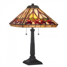 Quoizel TF1509TVB - Tiffany Table Lamp