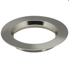 "Satco Products Inc. S9521 - Freedom Round 5"" Trim Option for 5""- 6"" base unit; Satin Nickel finish"