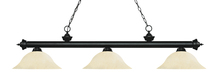 Z-Lite 200-3MB-GM16 - 3 Light Billiard Light