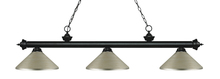 Z-Lite 200-3MB-MAS - 3 Light Billiard Light