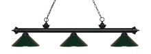 Z-Lite 200-3MB-MDG - 3 Light Billiard Light