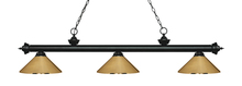 Z-Lite 200-3MB-MPB - 3 Light Billiard Light
