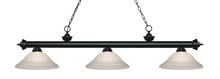 Z-Lite 200-3MB-SW16 - 3 Light Billiard Light