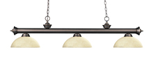 Z-Lite 200-3OB-DGM14 - 3 Light Billiard Light
