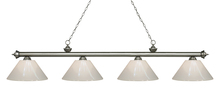 Z-Lite 200-4AS-PWH - 4 Light Island/Billiard Light