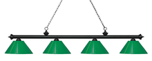 Z-Lite 200-4MB-PGR - 4 Light Island/Billiard Light