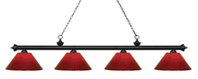 Z-Lite 200-4MB-PRD - 4 Light Island/Billiard Light