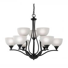 Thomas 2109CH/10 - Bristol Lane 9 Light Chandelier In Oil Rubbed Br