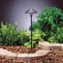 Kichler Landscape 15826BKT27R - Led Center Mount Path Light