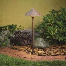 Kichler Landscape 15871TZT - LED Cast Alum Hammered Roof