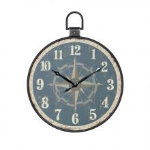 Stylecraft Home Collection WC2098 - Aged Pocket Watch Wall Clock