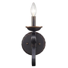Golden 4414-1W ABZ - 1 Light Wall Sconce