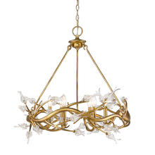Golden 9942-6 GL - 6 Light Chandelier
