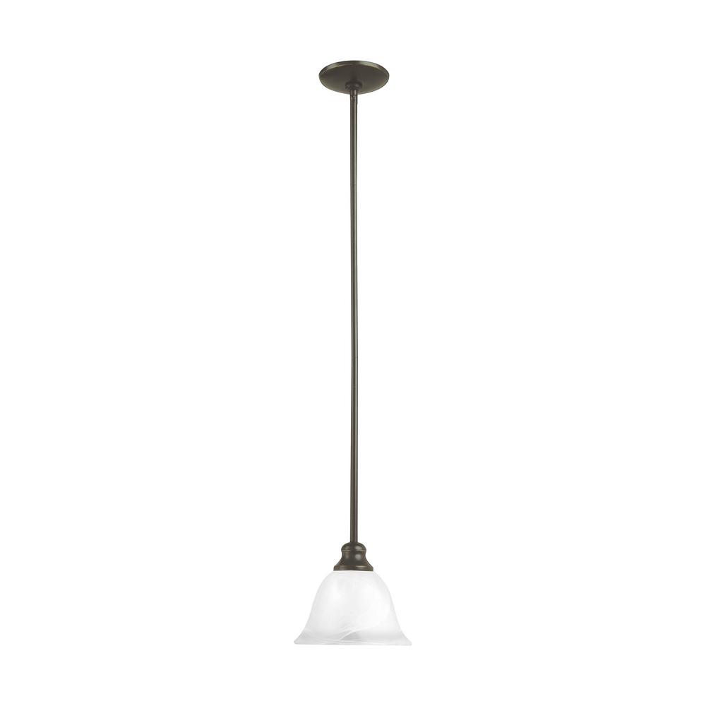 Village Lighting in Bellingham, Washington, United States,  P9QY, One Light Mini-Pendant, Windgate