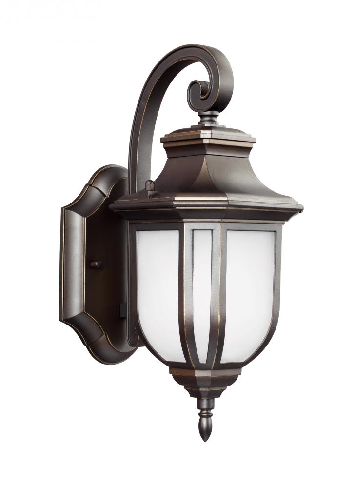 Village Lighting in Bellingham, Washington, United States,  9N9CM, Small One Light Outdoor Wall Lantern, Childress