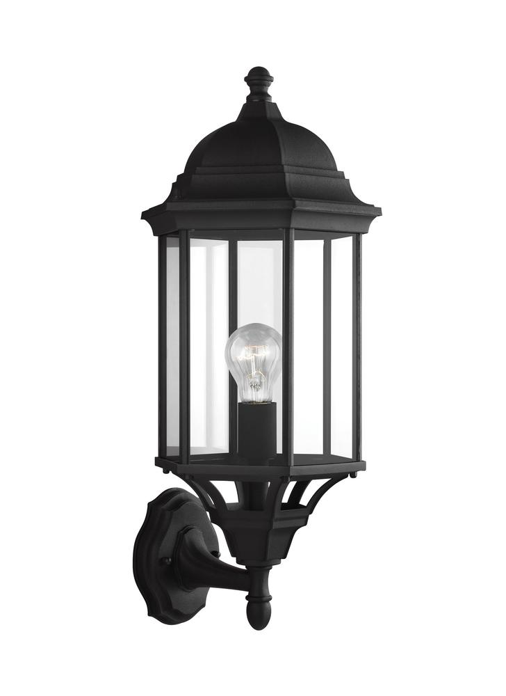 Large One Light Uplight Outdoor Wall Lantern