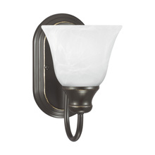 Sea Gull 41939-782 - One Light Wall / Bath Sconce