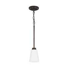Sea Gull 6115201-782 - One Light Mini-Pendant