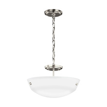 Sea Gull 7715202-962 - Two Light Semi-Flush Convertible Pendant