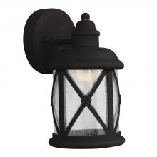 Sea Gull 8521492S-12 - Small LED Outdoor Wall Lantern