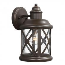 Sea Gull 8621401-71 - Medium One Light Outdoor Wall Lantern