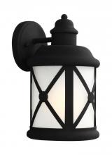 Sea Gull 8621451-12 - Medium One Light Outdoor Wall Lantern