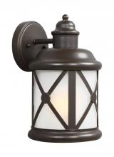 Sea Gull 8621451-71 - Medium One Light Outdoor Wall Lantern
