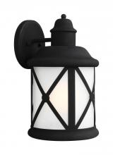 Sea Gull 8721451-12 - Large One Light Outdoor Wall Lantern