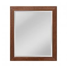 Sterling Industries MW5000A-0046 - Angled Carved Wood Frame Mirror - Small